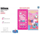 wholesale Bath & Towelling: Peppa Pig - towel cotton majo