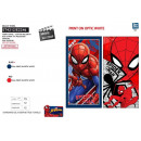 SPIDERMAN - serviette de plage cotton majo