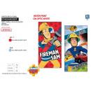 Großhandel Home & Living: Fireman Sam - Handtuch 100% Strand Polyester