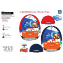 Cars 3 - 100% sublime cap polyester / 100%