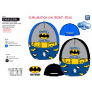 BATMAN - casquette 100% polyester / 100% cotton