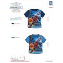 wholesale Childrens & Baby Clothing: GORMITI - T-Shirt short cuffs full print 100