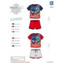 GORMITI - Set 2 pezzi corto e T-Shirt 100% c