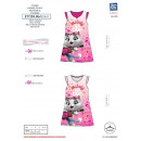Großhandel Nachtwäsche: 44 CATS - 100% Nachthemd Baumwolle