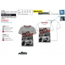 FAST & FURIOUS - Short Cuff T-Shirt 65% pol