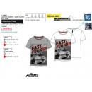 Großhandel Lizenzartikel: FAST & FURIOUS - Kurzes T-Shirt Manschetten 65