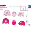 HELLO KITTY - casquette & lunettes 100% polyester