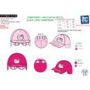 Hello Kitty - 100% polyester cap & glasses