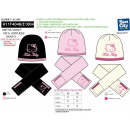 Hello Kitty - set  2 pieces hat & scarf mul