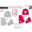 Hello Kitty - pudełko szalik i rękawiczki i czapka