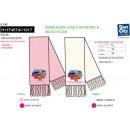 Großhandel Schals, Mützen & Handschuhe: LITTLE MISS - Schal aus 100% Polyester
