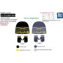 BOB ESPONJA - conjunto 2 piezas sombrero y guantes