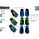 wholesale Scarves, Hats & Gloves: BEN 10 - multi composition ski gloves