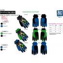 10 BEN - Skihandschuhe Multi Zusammensetzung
