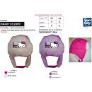 Großhandel Lizenzartikel: Hello Kitty - Pelzmütze aus 100% Polyester