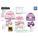 Hello Kitty - set 2 pieces hat & gloves multi