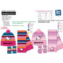 Hello Kitty - conjunto 3 piezas bufanda y guantes