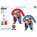 wholesale Licensed Products: MARIO BROS - 100% polyester jumpsuit