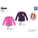 Sofia - 100% polyester fleece jacket