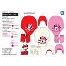 wholesale Licensed Products: Minnie - 2-piece set hat & multi gloves