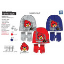 Angry Birds - 2 piece set hat & multi gloves