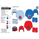 Spiderman - conjunto 2 piezas sombrero y guantes M