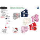 Hello Kitty - set 2 pieces multi composit gloves