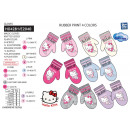 HELLO KITTY - gants multi composition