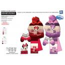 Minnie - 3 piezas bufanda y guantes y tapa