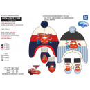 Cars - set 2 pieces hat & gloves multi