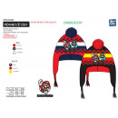 wholesale Scarves, Hats & Gloves: MARIO BROS - Peruvian multi composition