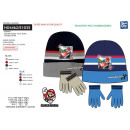 wholesale Licensed Products: MARIO BROS - 2-piece set hat & multi gloves