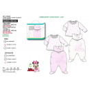 wholesale Licensed Products: Minnie - set 2 pieces overalls & top 100% c