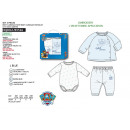 PAW PATROL - ensemble body & cardigan & pant 100%