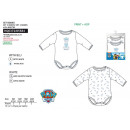 PAW PATROL - set 2 bodies 100% coton