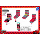 Cars - socks 70% cotton 18% polyester 10% po