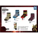 wholesale Stockings & Socks: Transformers - socks 70% cotton 18% polyester