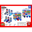 Super Wings - 3 calcetines paquete de 70% de algod
