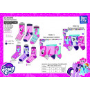 My Little Pony - pack 3 socks 70% cotton 18%
