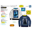 STAR WARS IV - sweat capuche 65% polyester / 35% c
