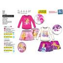 Princess -Bundle gonna 2 pezzi & T-Shirt 65% p