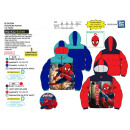 wholesale Coats & Jackets: Spiderman - 100% polyester down jacket