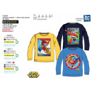 wholesale Licensed Products: Super Wings - 100% coton Long Sleeve T-Shirt