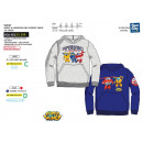 SUPER WINGS - sweat kangourou 65% polyester / 35%