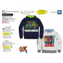TRANSFORMERS - sweat capuche 65% polyester / 35% c