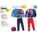 Spiderman - sublime lunga pigiama 100% poliestere