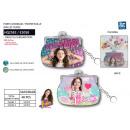 Soy Luna - wallet 9x7cm 100% pu