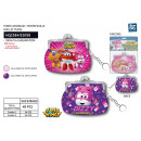 wholesale Licensed Products: Super Wings - purse 9x7cm 100% pu
