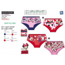 ingrosso Shorts: Minnie - Lotto 2  Shorty stampe 95% cotone /