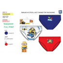 Minions - pack of 3 briefs 100% coton